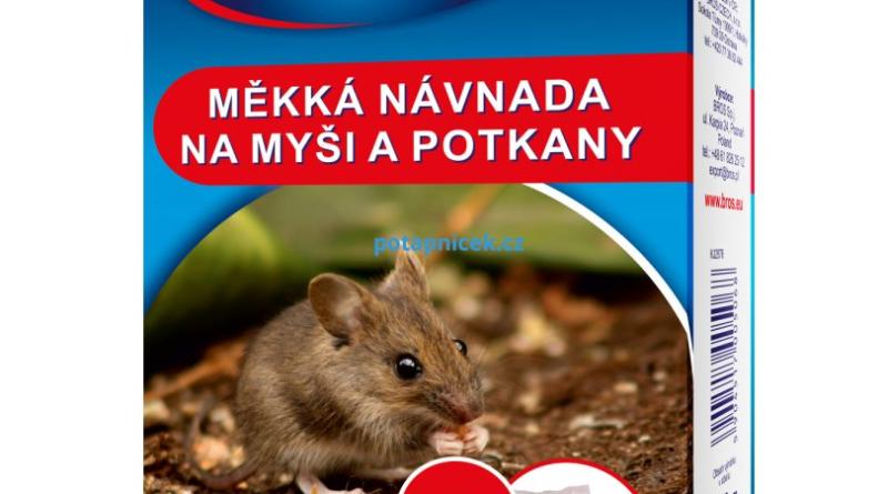 Bros měkká návnada na myši a potkany